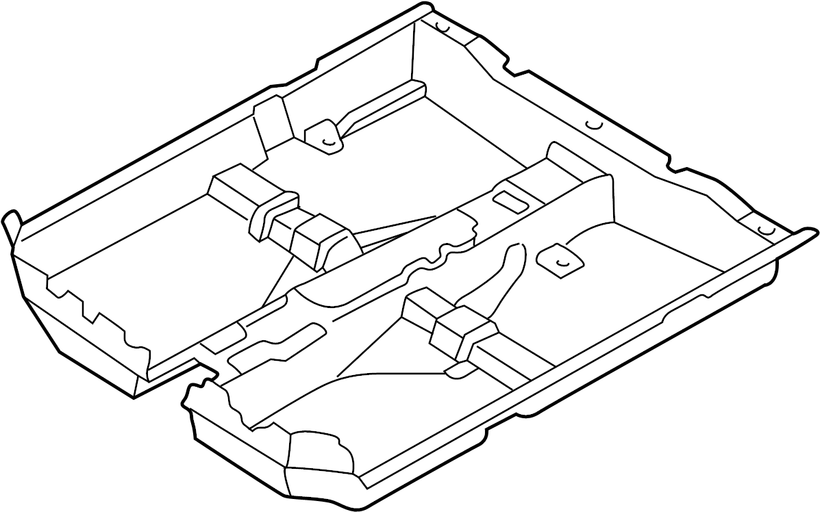 Mazda 626 Floor Carpet. W/high grade audio, gray