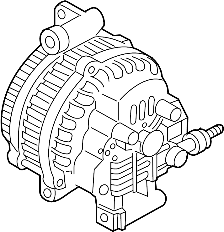 Mazda 6 Alternator. Battery, Manual, Replaced
