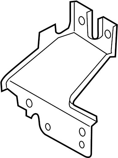 Mazda 6 Alternator Bracket. W/O MAZDASPEED6, 2.3 LITER