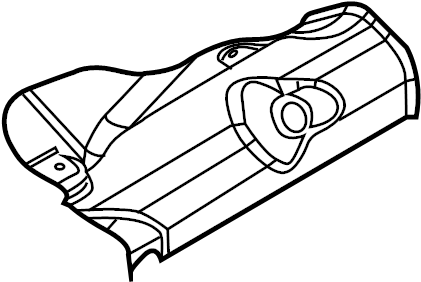 Mazda 6 Power Steering Pump Insulator. 3.0 LITER