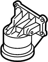 Mazda MX-5 Miata Engine Oil Filter Adapter (Front