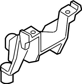 Mazda 6 Engine Mount Bracket. 2.5 LITER, MANUAL TRANS