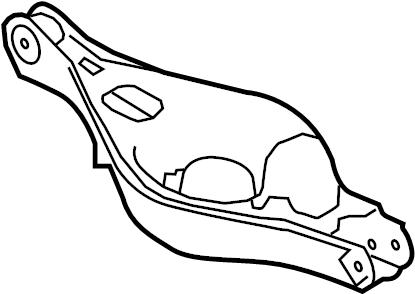 Mazda 6 Suspension Control Arm. Right, Causing, REAR