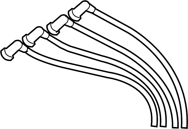 Mazda RX-8 Spark Plug Wire Set. 2004-08. 2009-11. RX-8