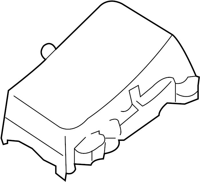 Mazda RX-8 Fuse Box Cover (Upper). ENGINE COMPARTMENT