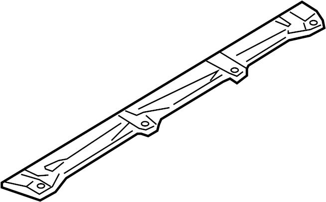 Mazda RX-8 Transmission Crossmember Insulator (Upper