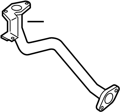 Mazda RX-8 Secondary Air Injection Pump Hose (Right