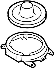 Mazda RX-8 Manual Transmission Shift Linkage Boot. Manual