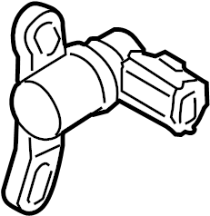 Mazda B2300 Engine Crankshaft Position Sensor. LITER