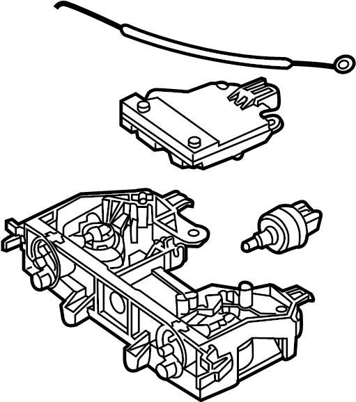 Mazda 5 Hvac temperature control panel. Mazda5; w/o atc. W