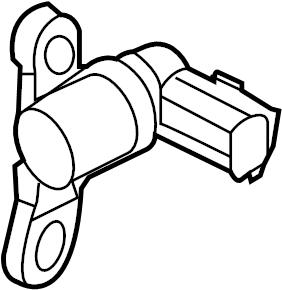 Mazda 6 Engine Crankshaft Position Sensor. LITER, Repair