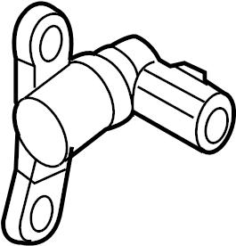 Mazda CX-7 Engine Crankshaft Position Sensor. Repair