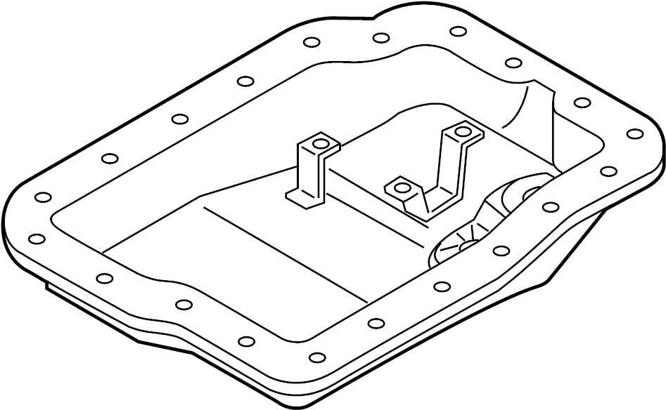 Mazda CX-7 Automatic Transmission Oil Pan. LITER