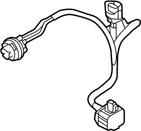 Mazda CX-5 Headlight Wiring Harness. HID. FRONT, Left