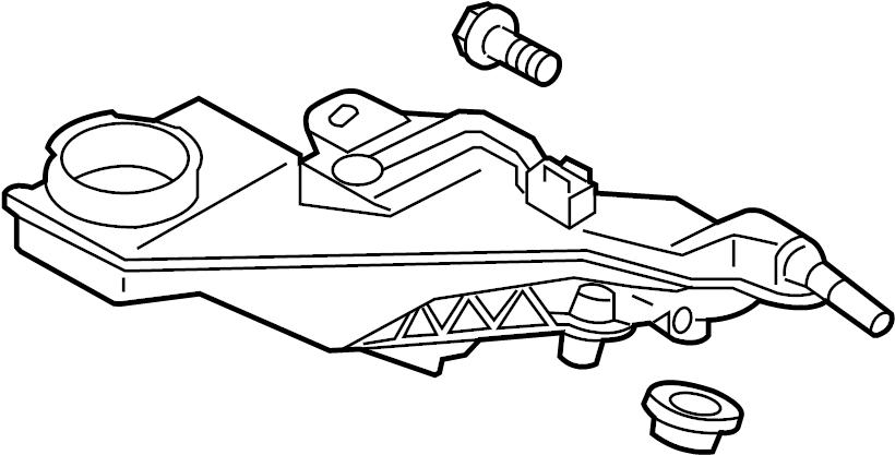 Mazda CX-5 Brake Master Cylinder Reservoir. LITER, Replace