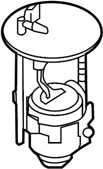 Mazda CX-5 Fuel. Filter. Location-Tank. W/AWD. Pump. Body