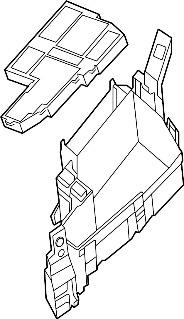 Mazda CX-5 Fuse and Relay Center. ENGINE COMPARTMENT. FUSE