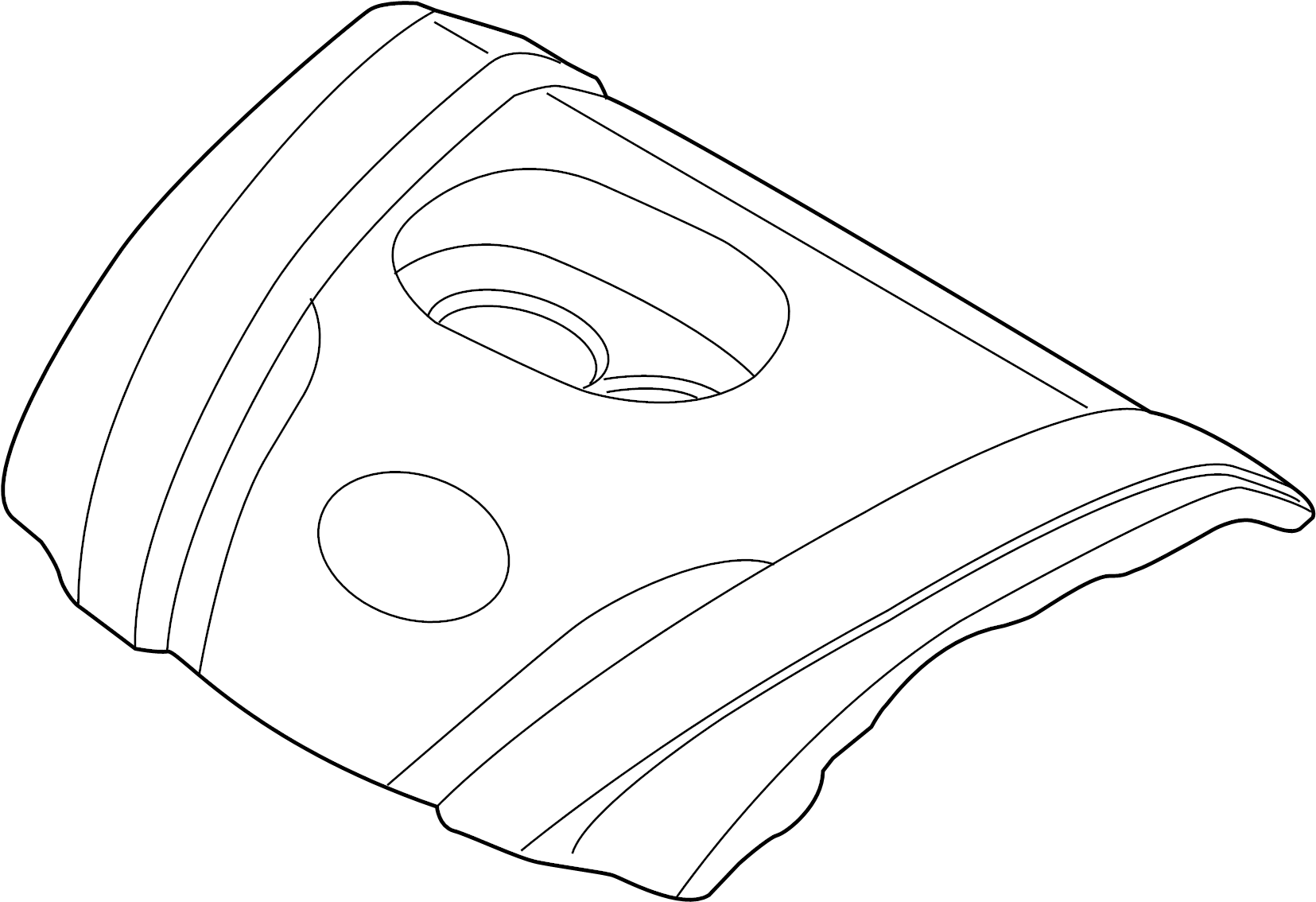 Mazda 6 Cover Valve Engine Head 2 5 Liter 2 5 Liter