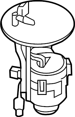 Mazda CX-9 Fuel. Filter. GASOLINE, 2.5 LITER TURBO. W/O
