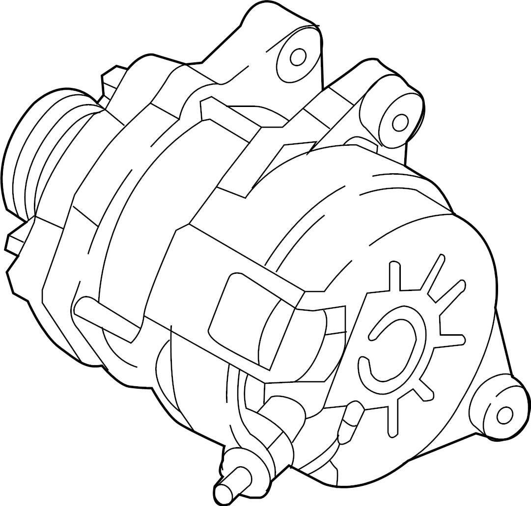 Mazda CX-5 Alternator. 2.2 LITER DIESEL. CX-5; 2.2L