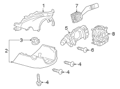 Mazda CX-30 Headlight Switch. Asst, Headlamp, Beam