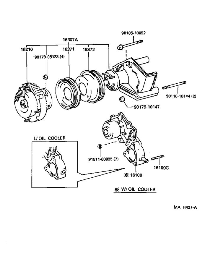 Toyota Camry Towing Options, Fan Fluid Coupling. Towing