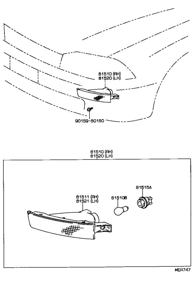 Toyota Camry Plug assembly; socket; wire sub-assembly
