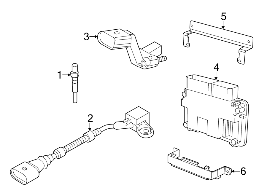 Volkswagen Beetle Ecm. Engine control module. 2.0 liter