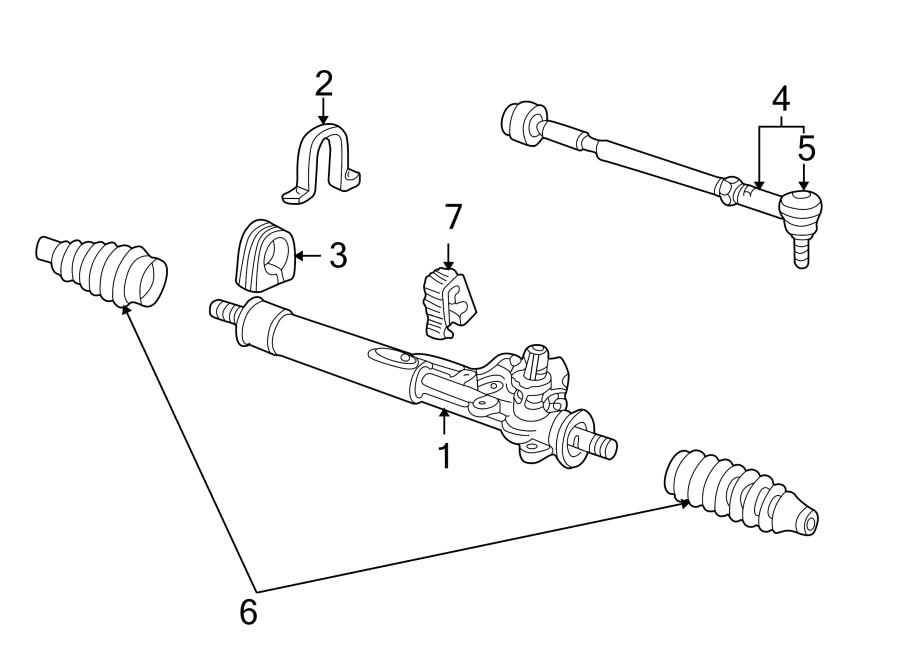Volkswagen Cabrio Steering Tie Rod End. Left, GEAR, Outer