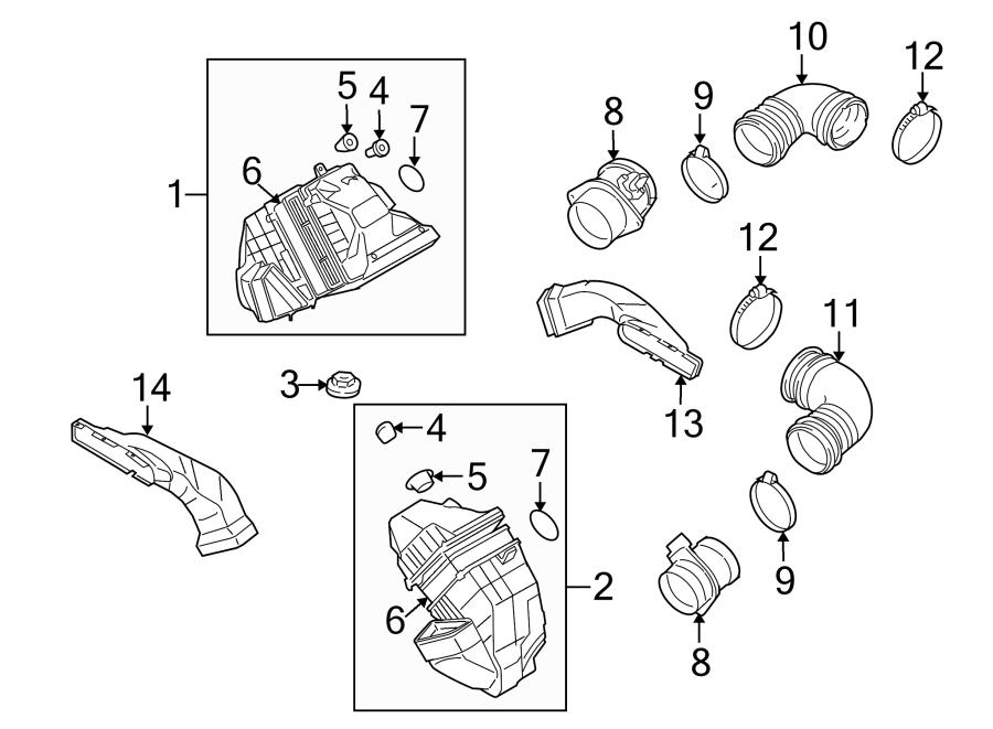Volkswagen Phaeton Air. Seal. Ring. Mass. Sensor