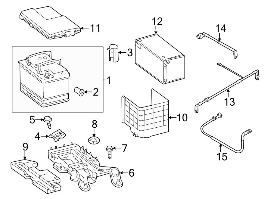 Volkswagen Tiguan Battery Ground Strap. Manual trans. Amp