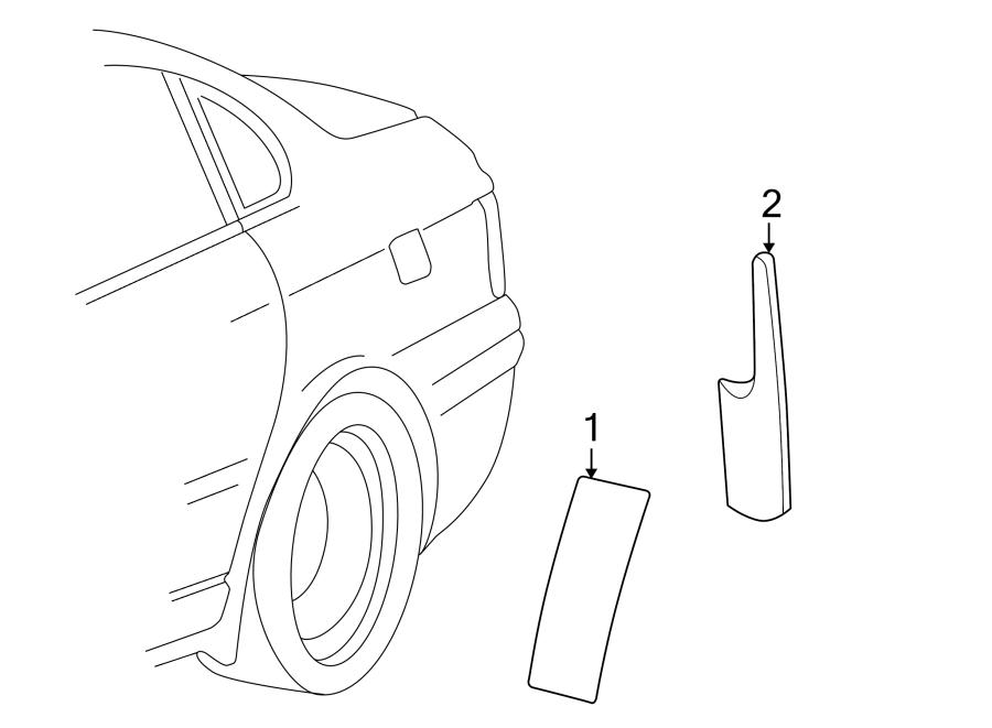 Volkswagen Passat Wagon Stone Guard. SEDAN. STATION WAGON