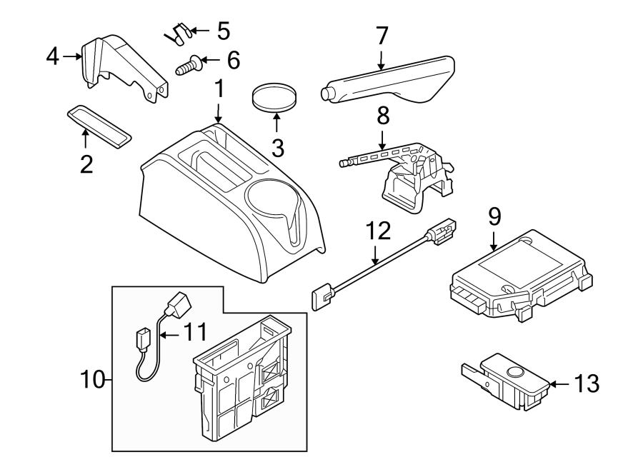 Volkswagen Jetta Control module. Magn probe. W/armrest