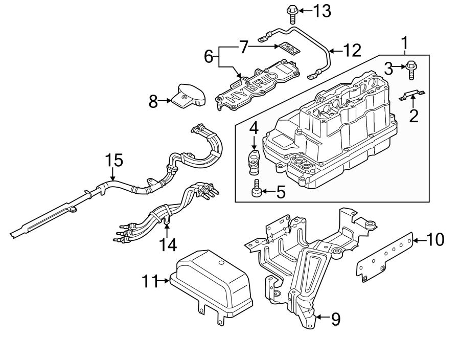 Volkswagen Jetta Hybrid Bolt. Combination screw 4x. Fuse