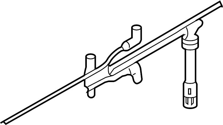 Volkswagen Golf Spark Plug Wire. Ignition, Wires, Cylinder