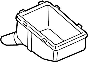 Volkswagen Jetta Box. Grommet. Relay. Bracket. ENGINE