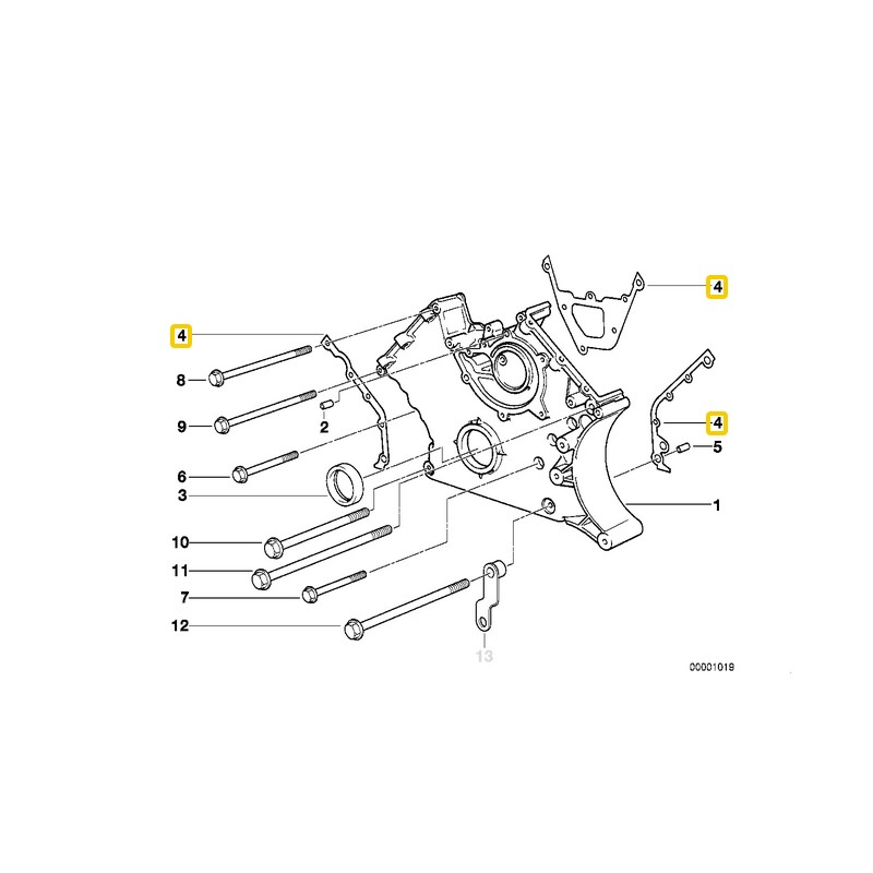 Timing Chains TIMING chain Guide Rails Set 6 PCS CHAINS