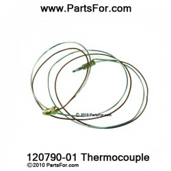 120790-01 Thermocouple Desa parts for heating products