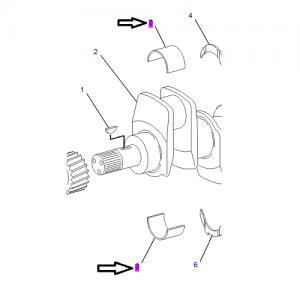 Двигатель / Cat 432D / Caterpillar / Спецтехника