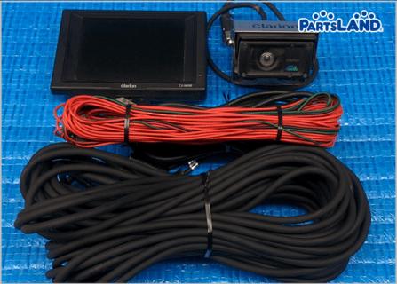 Clarion 小型カラーバックカメラ モニター 動作OK コード20m| ガレージオフ 八王子堀之内店