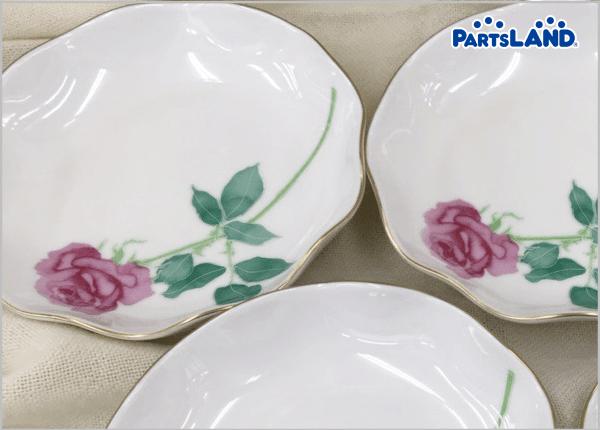 #薔薇 #小皿 #香蘭社 5枚セットです!| オフハウス 秦野店