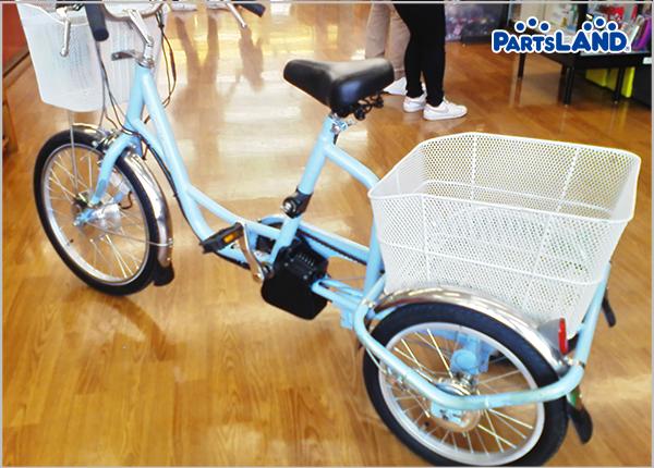 ミムゴ電動アシスト三輪自転車| ガレージオフ 湘南平塚店