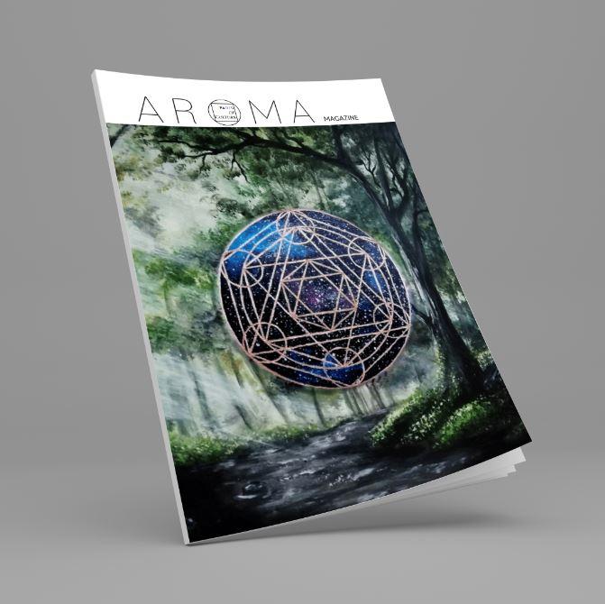 AROMA Magazine cover Vicky Darko