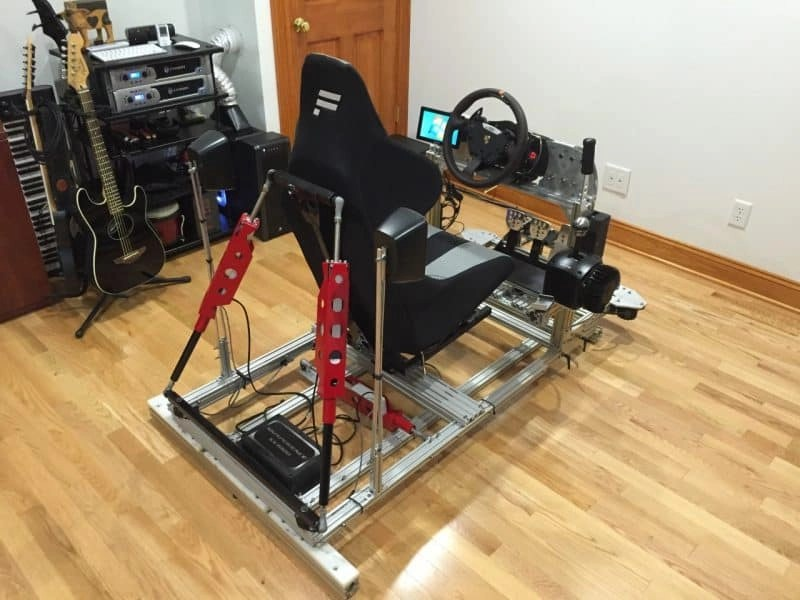 racing simulator chair plans steel images extreme diy engineering build your own custom rig in case you needed more inspiration to get started check out these customized rigs