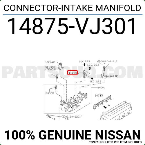 Intake Manifold Parts Name