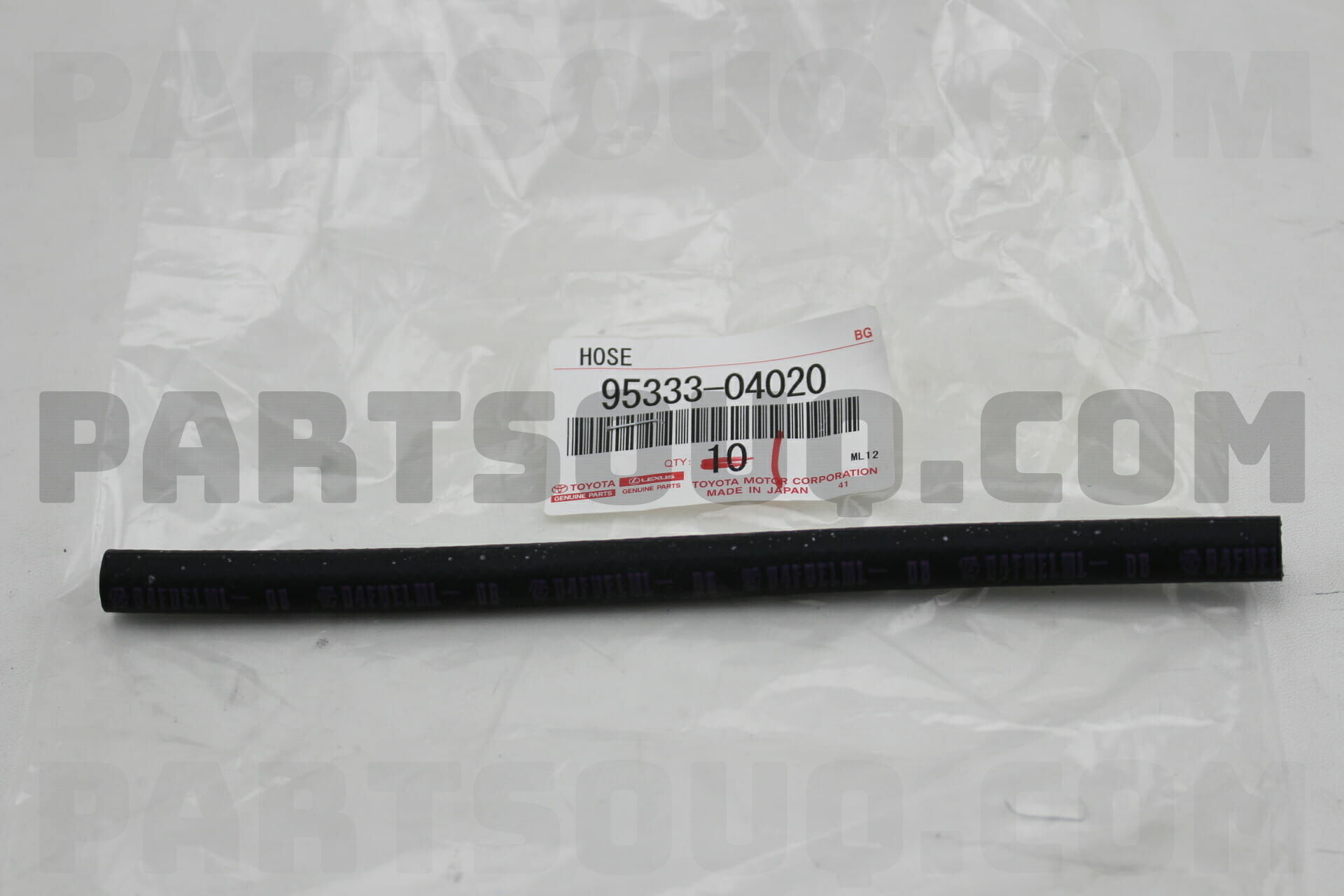 hight resolution of toyota 9533304020 hose or pipe fuel for injection pump to fuel filter