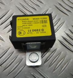 2 of 12 2003 hyundai getz 1 3 petrol manual ignition kit engine ecu fuse box [ 1599 x 899 Pixel ]