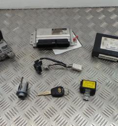 2003 hyundai getz 1 3 petrol manual ignition kit engine ecu fuse box [ 1599 x 899 Pixel ]