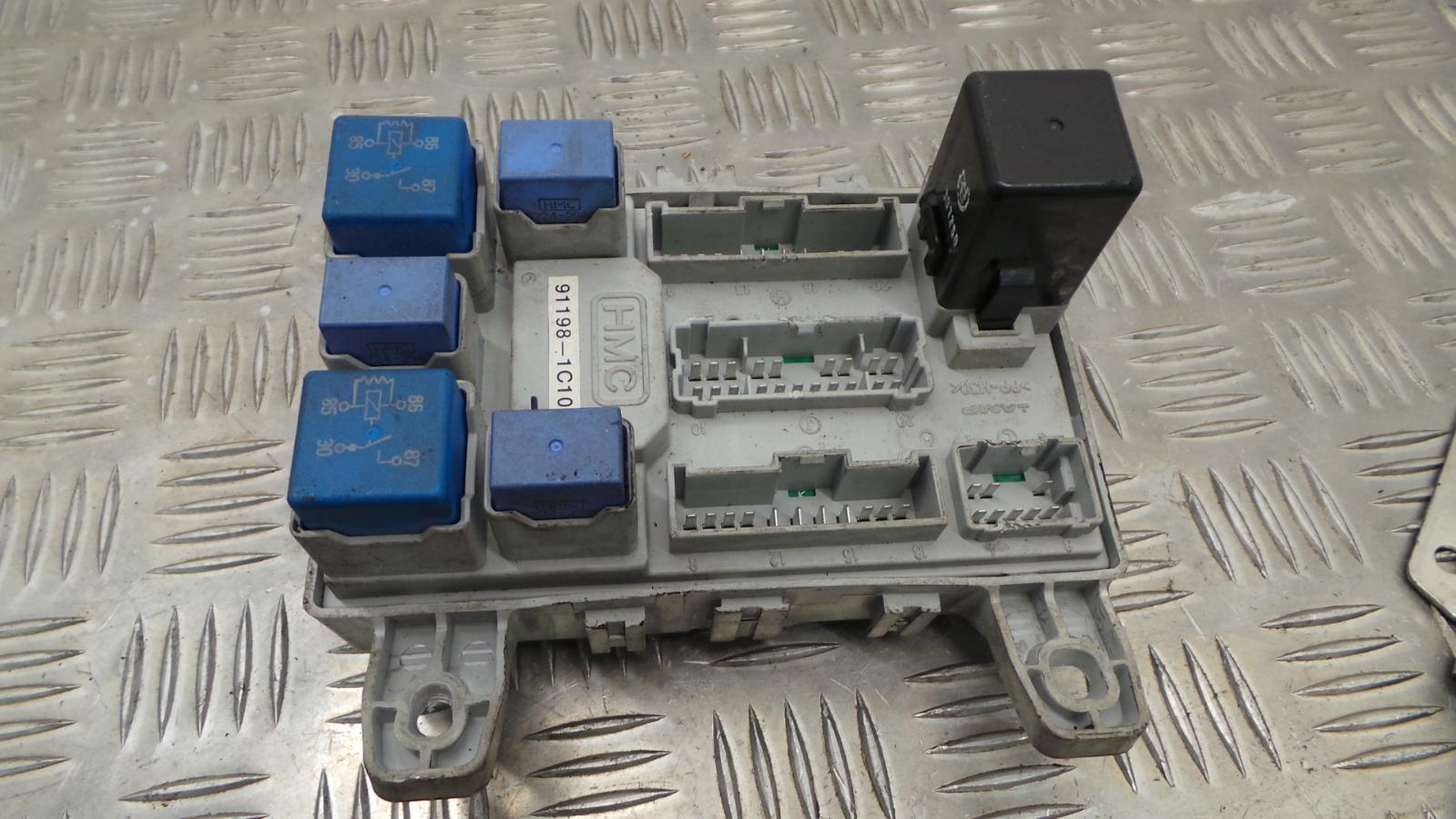hight resolution of 2003 hyundai getz 1 3 petrol manual ignition kit engine ecu fuse box 2 2 of 12