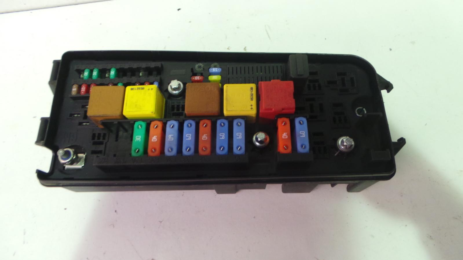 hight resolution of vauxhall vectra c 2002 2009 1 9 diesel under bonnet fuse box 13205801 11 11 of 12
